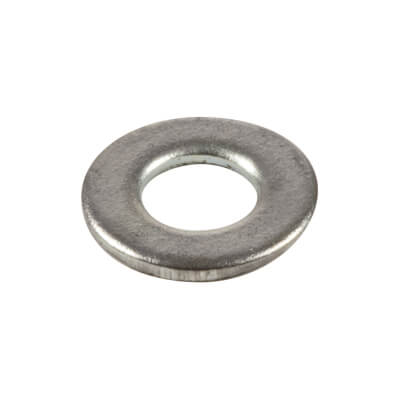 Flat Washer - Form 'B' - M4 - Zinc Plated - Pack 100