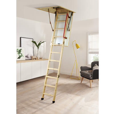 Youngman Timber Eco S Line Loft Ladder)