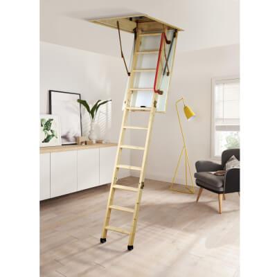 Youngman Timber Eco Loft Ladder)