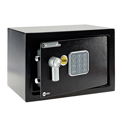 Yale® Home Safe - 250 x 350 x 250mm - Black