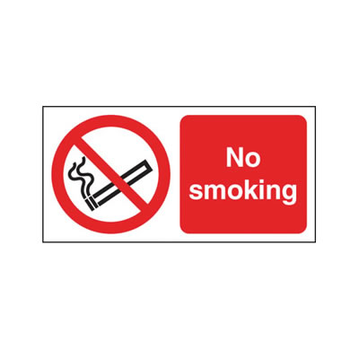 No Smoking)