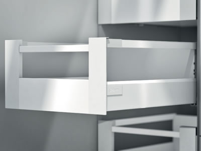 Blum Tandembox Antaro Internal Drawer Pack - (H) 206mm x (D) 450mm x (W) 450mm - Grey