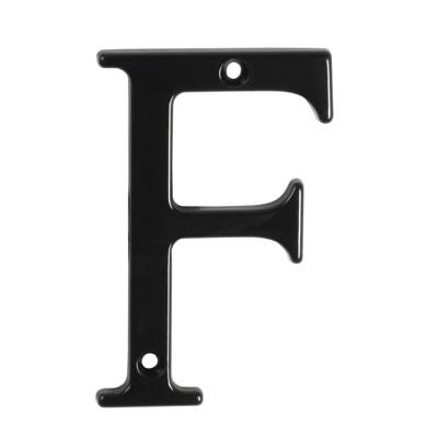 76mm Letter - F - Black