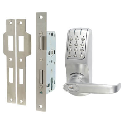 Codelocks CL5020 Electronic Lock - Brushed Steel