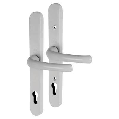 Yale® - uPVC Universal handle - 92mm centres - White)