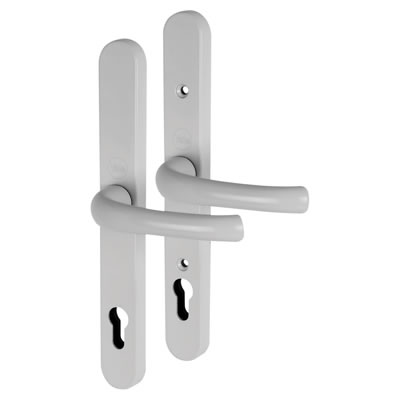 Yale® - uPVC Universal handle - 92mm centres - White)