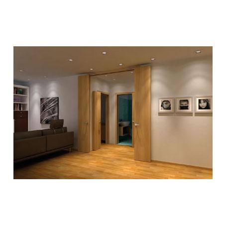 KLÜG Compack Living 180C Folding Door System - Max Passage Width 1000mm - Right Hand)