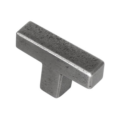 Crofts & Assinder Telford T-bar Cabinet Knob - 75 x 15mm - Iron