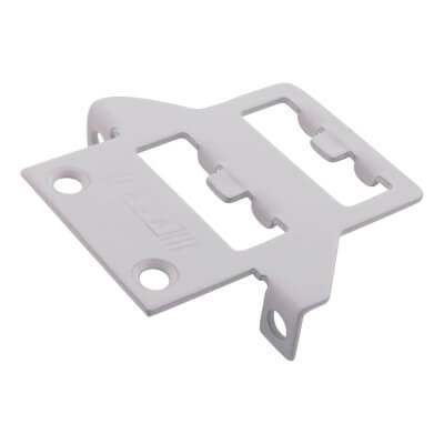 LASA Fitch Window Fastener - uPVC/Timber - Nightvent Keep - White