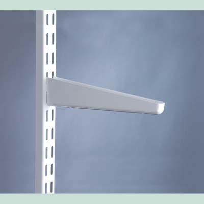 elfa Bracket for Solid Shelving - 320mm - White)