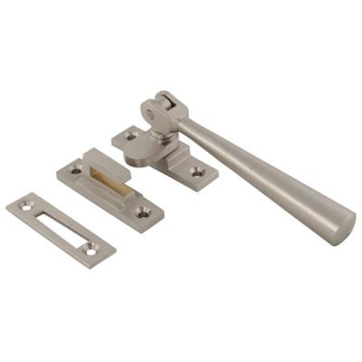 Carlisle Brass Julietta Hook and Plate Window Fastener - Satin Nickel