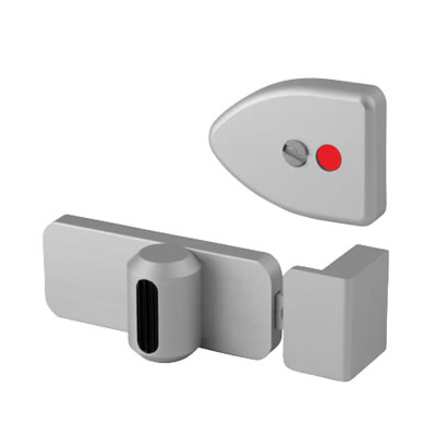 Designer Indicator Bolt - Satin Anodised Aluminium - 12-13mm Panels