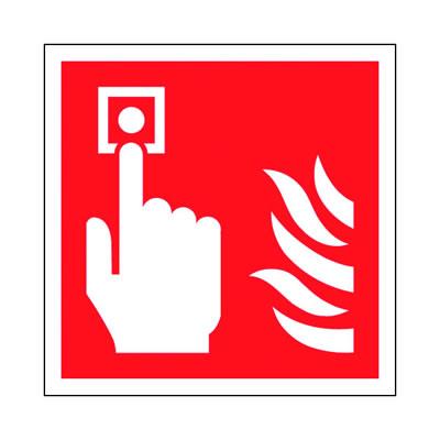 Fire Alarm Symbol - 100 x 100mm)