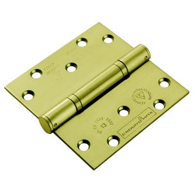 Enduro Triple Knuckle Thrust Hinge - 125 x 102 x 3.5mm - PVD Brass)