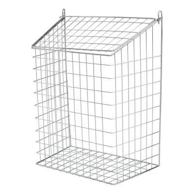 Letter Cage - 457 x 349 x 203mm - Polished Chrome)