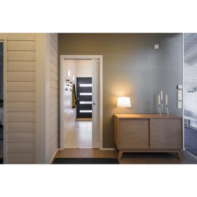 Eclisse Single Pocket Door Kit - 125mm Finished Wall - 1026 x 2040mm Door Size
