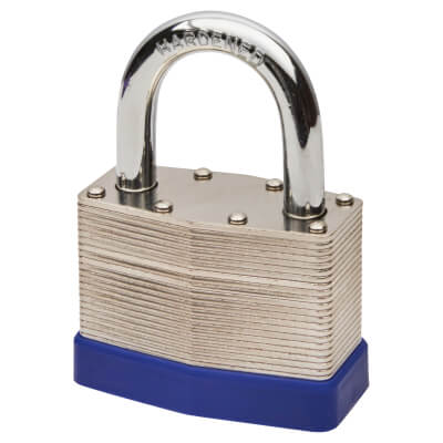 Laminated Padlock - 60mm - Keyed to Differ