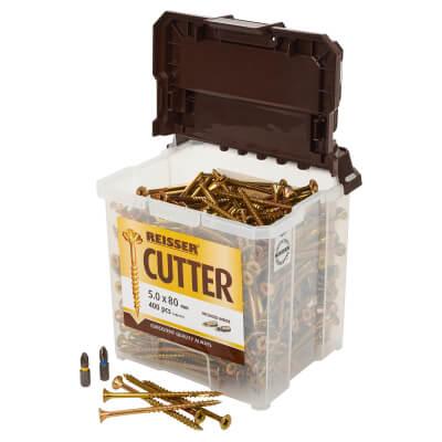 Reisser Cutter Tub - 5 x 80mm - Pack 400)