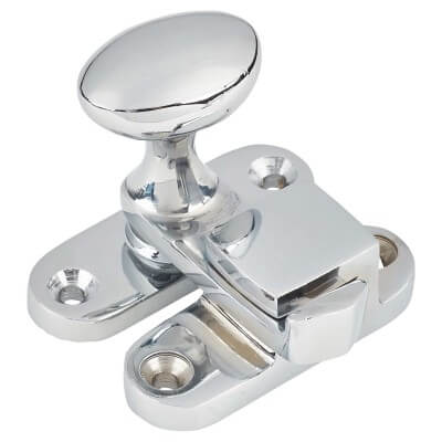 Jedo Throw Over Latch - 53mm - Polished Chrome)