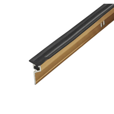 Exitex Perimeter Seal - Single Door Kit - Gold Anodised