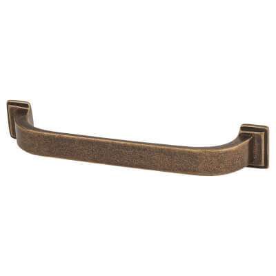 Crofts & Assinder Windsor Iron Cabinet Pull Handle - 128mm Centres - English Bronze