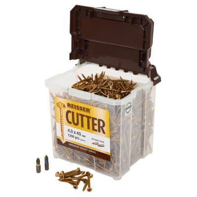 Reisser Cutter Tub - 4.0 x 40mm - Pack 1200)