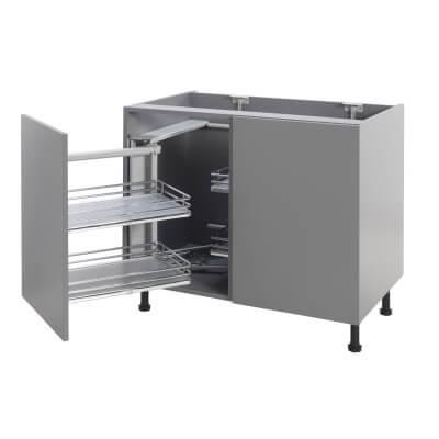 Soft Close Corner Organiser Plus - Left Hand - Cabinet Width 900/1000mm)