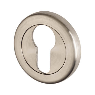 A-Spec Escutcheon - Euro - 316 Satin Stainless Steel)