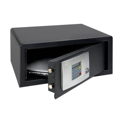 Burg Wächter P 3 E LAP PointSafe Electronic Laptop Safe - 200 x 445 x 380mm - Black)