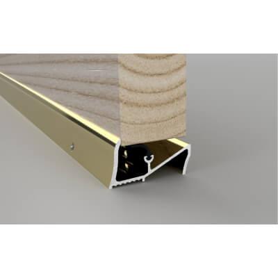 Stormguard Lowline Threshold - 838mm - Gold)