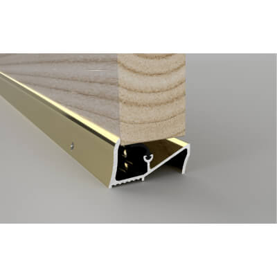 Stormguard Lowline Threshold - 838mm - Gold