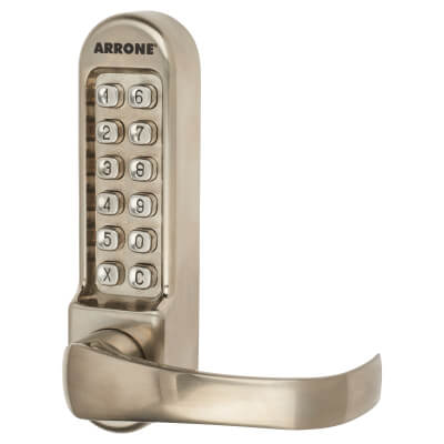 Arrone AR/D-515 Panic Access Lock - Brushed Stainless Steel