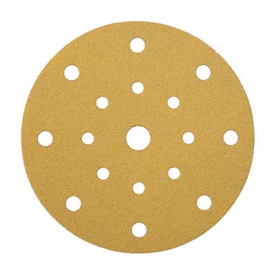 Mirka Gold Disc 17 Hole Festool Multi Jetstream - Grit 80 - Pack 100