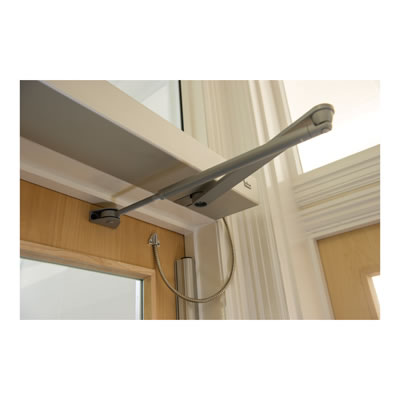 DORMA ED100LE Standard Arm - Push Side - Silver