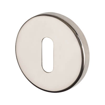 Project Escutcheon - Keyhole - Polished Stainless Steel)
