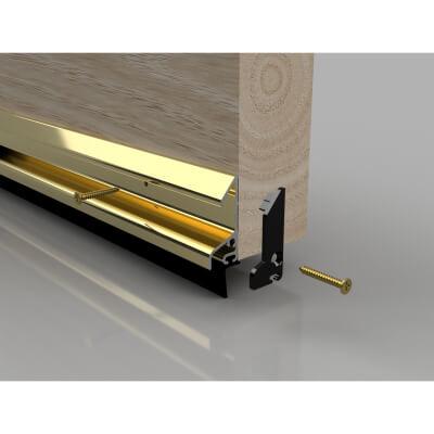 Stormguard XRD Rain Deflector with Rubber Seal - 914mm - Gold)