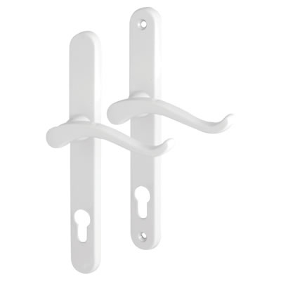 Fab & Fix Balmoral - uPVC/Timber - Scroll Multipoint Lock Lever/Lever - 92mm centres - Right Hand -