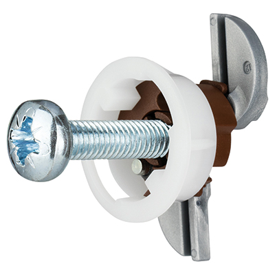 Grip It® Plasterboard Fixing - 20mm Hole - M6 x 30mm - Pack 8)