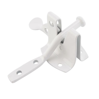 Auto Gate Catch - White)
