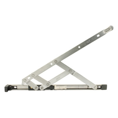 Restrictor Friction Hinge - uPVC/Timber - 16mm Stack - LH 16 inch / 400mm - Side Hung