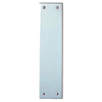 Finger Plate - 305 x 70 x 6mm - Polished Chrome