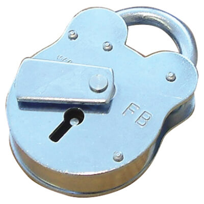 FB1 Padlock - 50mm - Galvanised