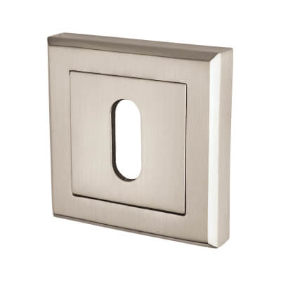 Elan Escutcheon - Keyhole - Satin Nickel