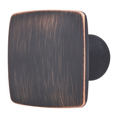 Rayon Cabinet Knob - Brushed Oil Rubbed Bronze)
