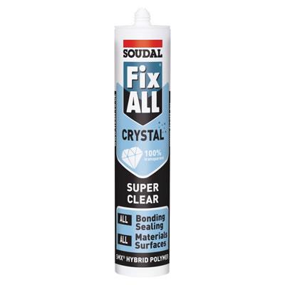 Soudal Fix All Crystal - 290ml)