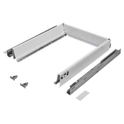 Blum TANDEMBOX ANTARO Drawer Pack - BLUMOTION Soft Close - (H) 84mm x (D) 500mm x (W) 450mm - White