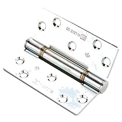 Royde & Tucker (H102) Hi-Load Triple Knuckle Butt Hinge - 100 x 88 x 3mm - Zinc Plated - Pair)