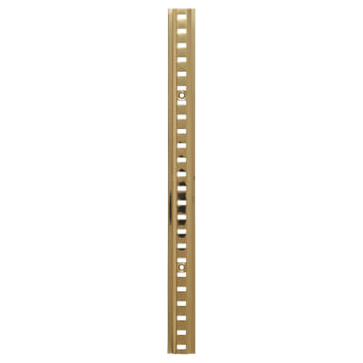 ION Raised Bookcase Strip - 1829 x 24mm - Electro Brass Plated
