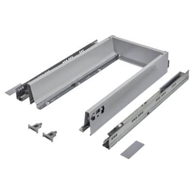 Blum TANDEMBOX ANTARO Drawer Pack - BLUMOTION Soft Close - (H) 84mm x (D) 450mm x (W) 400mm - Grey