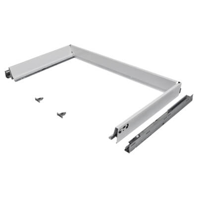 Blum TANDEMBOX ANTARO Drawer Pack - BLUMOTION Soft Close - (H) 84mm x (D) 500mm x (W) 1000mm - Whit